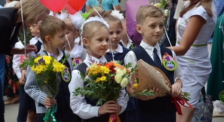 Дмитрий Бердников и Ирина Ежова поздравили иркутян с Днем знаний