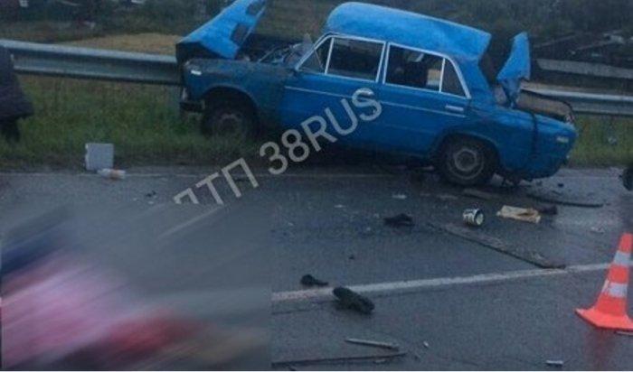 В Усольском районе в страшном ДТП погибла 17-летняя девушка
