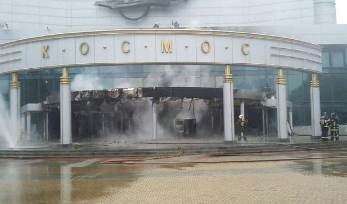 ВЕкатеринбурге мужчина взорвал «УАЗ» возле кинотеатра «Космос» (Видео)