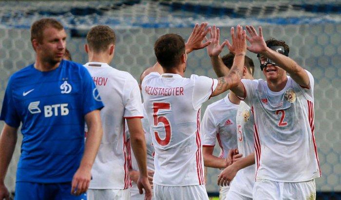 Сборная России разгромила «Динамо» в товарищеском матче