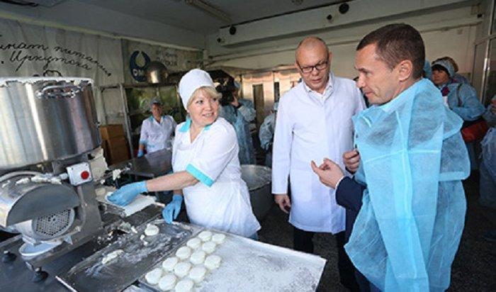 Иркутский комбинат получил новое оборудование для творожного и мясного цехов