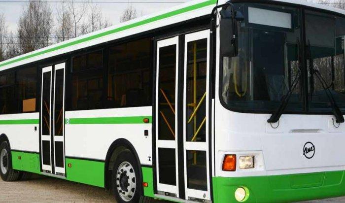 В Иркутске в середине сентября на маршруты выйдут новые пассажирские автобусы