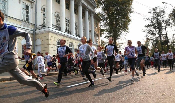 16 сентября в Иркутске пройдет всероссийский день бега «Кросс Нации – 2017»
