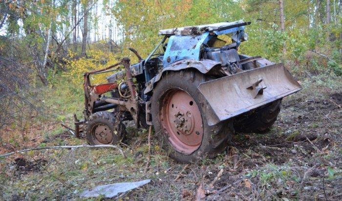 В Осинском районе в ДТП погиб водитель трактора