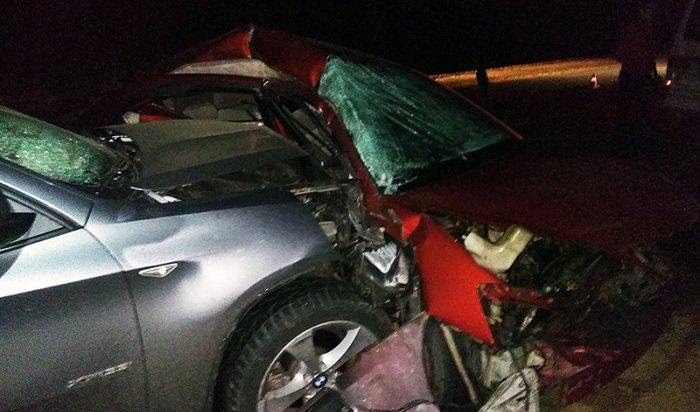 Под Ангарском столкнулись четыре автомобиля по вине пьяного водителя
