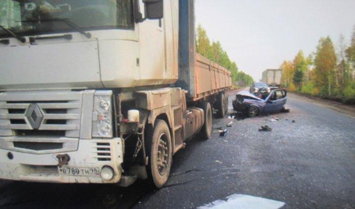 ВБратске врезультате столкновения «ВАЗа» идвух фур погибли две женщины