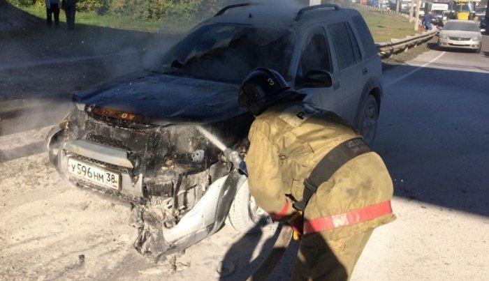 С начала года в Иркутской области сгорели 240  автомобилей