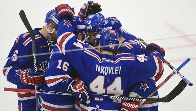 СКА одержал девятую победу подряд на старте КХЛ