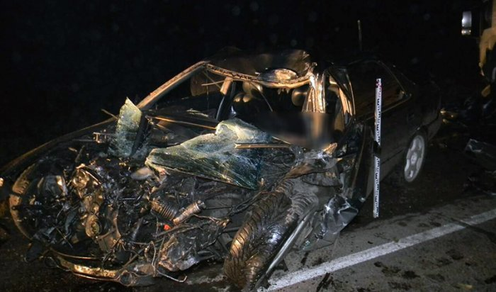 В Нижнеудинском районе при столкновении автомобиля Honda Saber и грузовика MAN погиб 35-летний мужчина