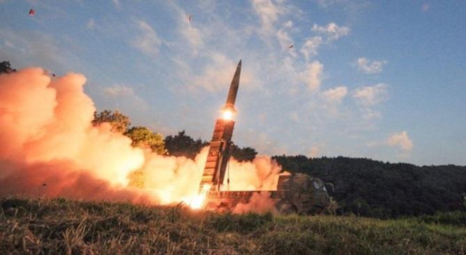 Южная Корея ответила КНДР запуском двух баллистических ракет
