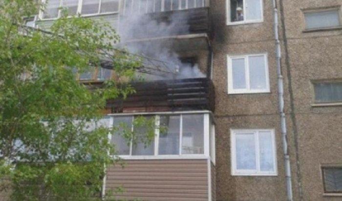 В Иркутске на бульваре Рябикова пожарные эвакуировали 16 жильцов многоквартирного дома