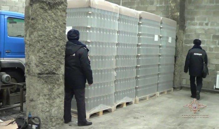 В Приангарье перед судом предстанут бутлегеры, изготавливавшие суррогатную водку