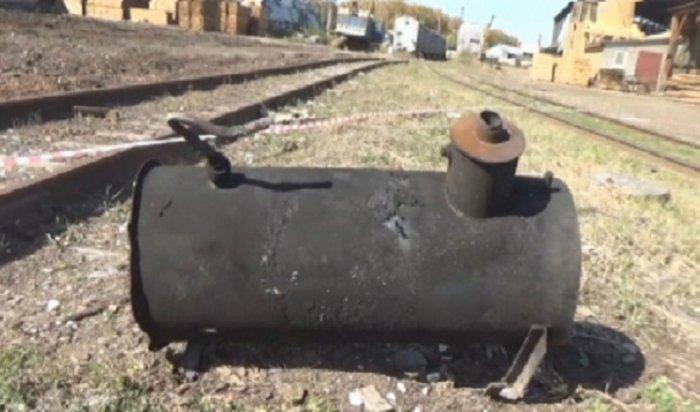 ВИркутске при взрыве напромбазе умер человек