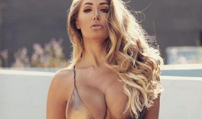 Модель Playboy решила уменьшить грудь после пробежки, когда ееперевесил бюст