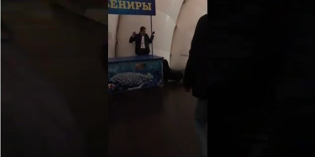 Морской котик задержал пьяного мужчину в Санкт-Петербурге