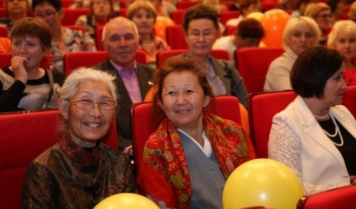 ВИркутске прошел праздничный концерт вчесть Дня пожилого человека