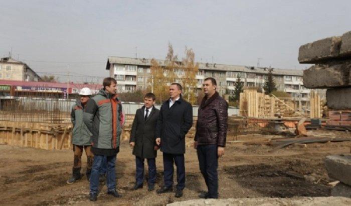 В Иркутске на строительстве школы № 19 задействовано более 200 человек