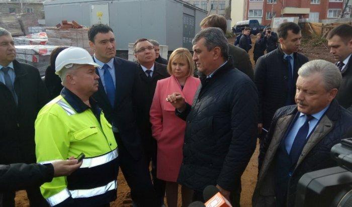 В Братск с рабочей поездкой прибыл полпред Президента РФ Сергей Меняйло