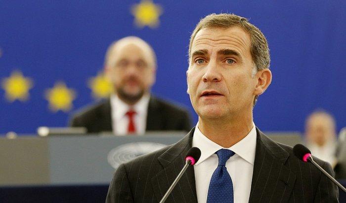 Король Испании обвинил власти Каталонии внарушении конституции