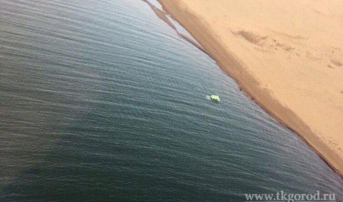 В Братском водохранилище обнаружили «Ниву» с трупом водителя