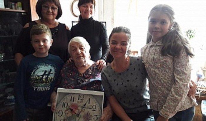 В Иркутске в предместье Рабочем прошел праздник для пожилых людей
