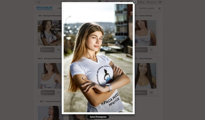 В фотоконкурсе финала академии «Краса России» победила Арина Нечипуренко