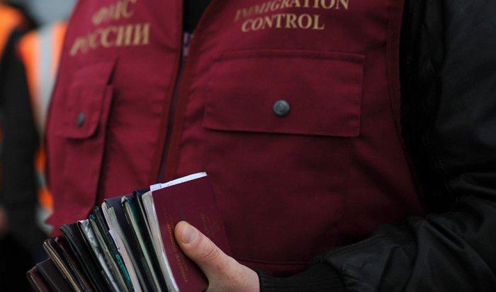 Из Иркутской области выдворили 417 иностранцев
