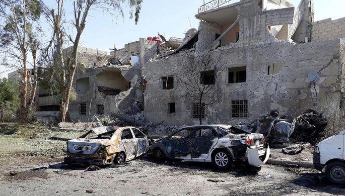 В столице Сирии за день прогремели три взрыва