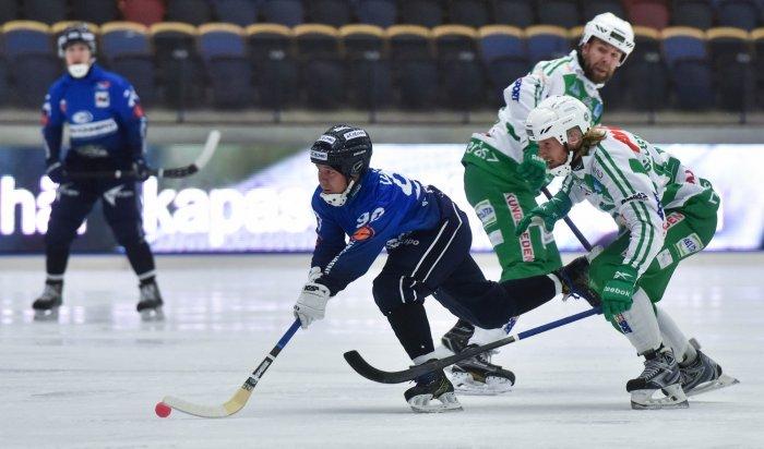 Иркутская «Байкал-Энергия» обыграла навыезде «Вестерос» со счетом 3:1