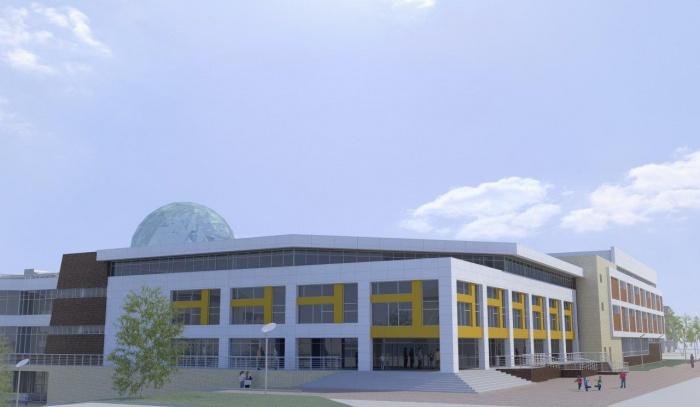 ВИркутске строители школы №19приступили квозведению вторых этажей двух учебных корпусов