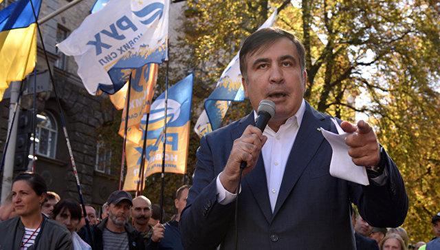 Саакашвили: «Киевские власти попытаются отменя избавиться»