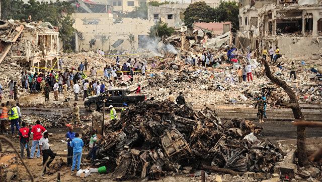 В Сомали из-за крупного теракта погибли 276 человек