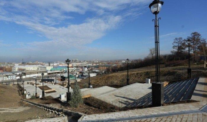 В Иркутске закончена реконструкция Иерусалимской лестницы