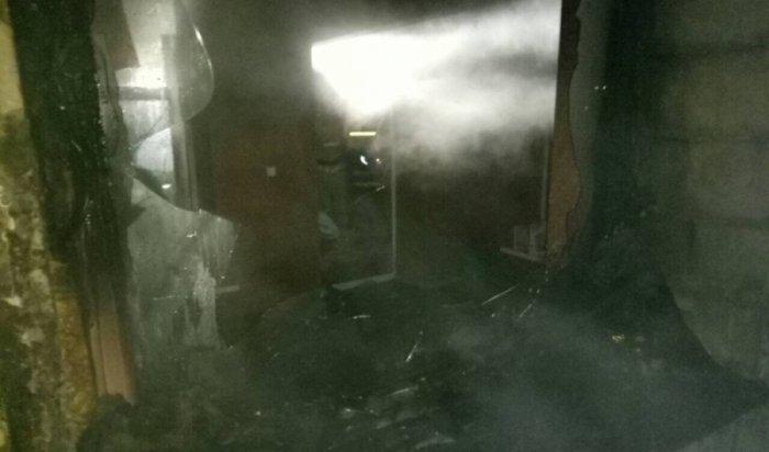 В Иркутске утром 18 октября при пожаре на улице Курортной были спасены 16 человек