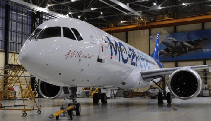 Самолет МС-21 совершил первый беспосадочный перелет из Иркутска в Подмосковье