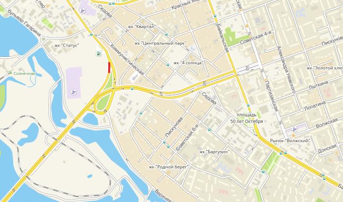 В Иркутске временно закроют въезд на Академический мост со стороны ТРК «Комсомолл»