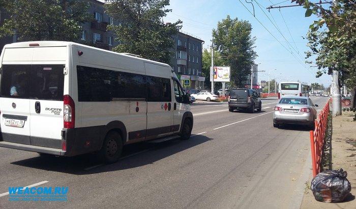 В Приангарье выявлено около 600 нарушений ПДД водителями маршруток
