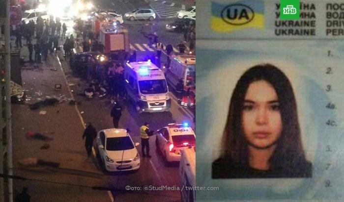 ВХарькове студентка наLexus врезалась вгруппу пешеходов, есть погибшие