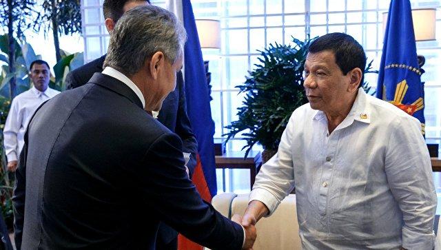 Россия передала Филиппинам оружие, боеприпасы и армейские грузовики