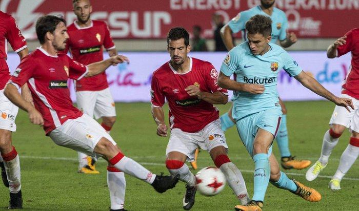 «Барселона» разгромила «Мурсию» в матче Кубка Испании по футболу
