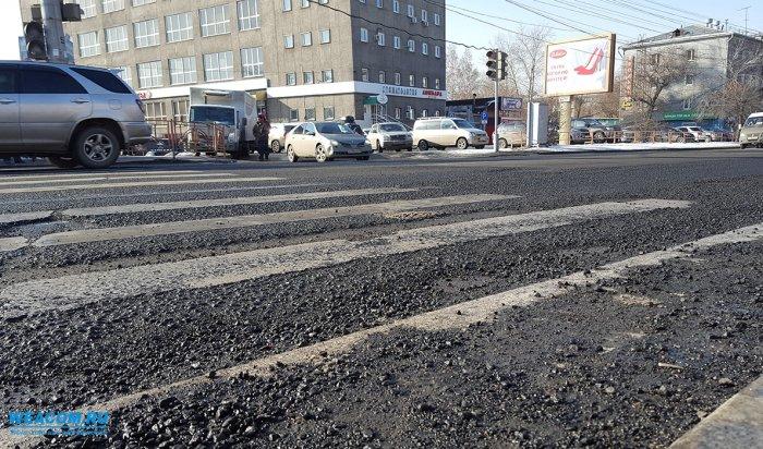 В Иркутске в следующем году отремонтируют более 30магистральных улиц