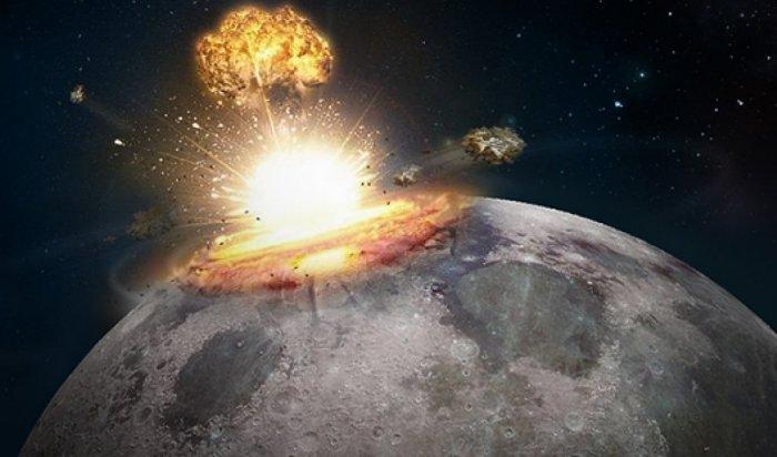 Падение метеорита на Луну зафиксировали в Иркутске