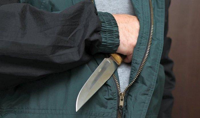 ВКрасноярске вооруженный ножом мужчина пытался ограбить кафе