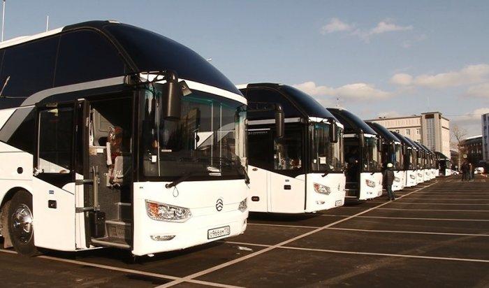 Губернатор Приангарья передал АО «Автоколонна 1880» десять новых автобусов