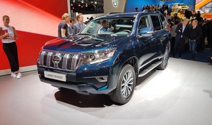 В России стартовали продажи нового Toyota Land Cruiser Prado