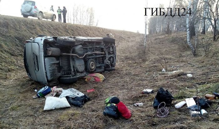 В результате ДТП в Красноярском крае пострадали три ребенка