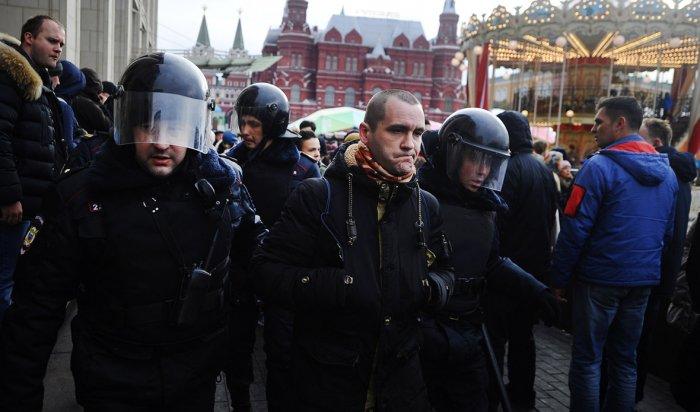 В Москве за нарушение общественного порядка задержали более 260 человек