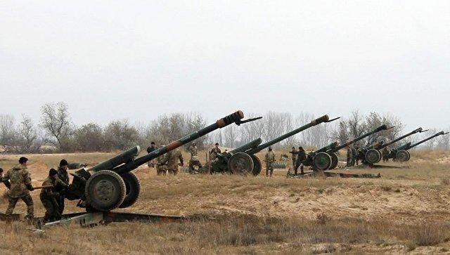 Захарченко заявил об уничтожении двух артиллерийских батарей ВСУ