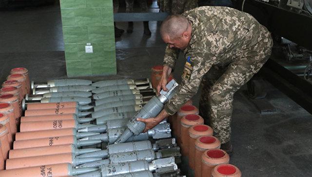 В ДНР прогремели взрывы на складе боеприпасов