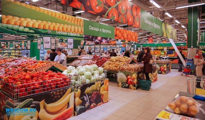 Напродовольственном рынке Приангарья зафиксирована дефляция